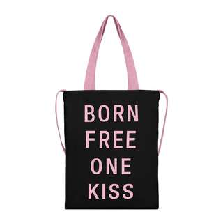MOLDIR BORN FREE ONE KISS CANVAS TOTE 2018