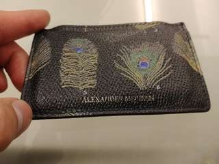 Alexander Mqueen 2017 F/W card holder
