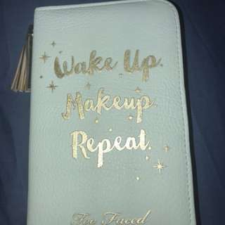 Too Faced Journal and Case