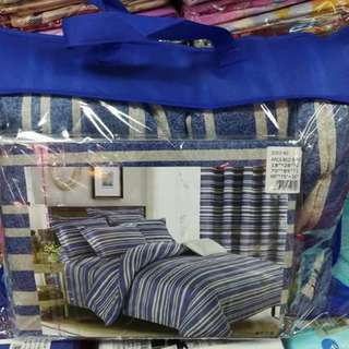 Bed sheet and comporter set