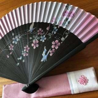 Korean Foldable Paper Fan