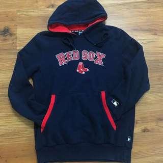 MLB Bos Ton Red Sox 波士頓紅襪隊 帽T M號