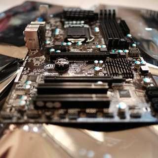 Lga 1155 Asrock Pro 3 z77 motherboard