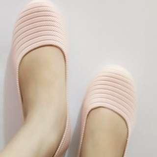 Flatshoes Jelly Sepatu Import