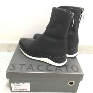 Staccato sock-style leather ankle boots *new*