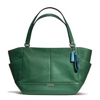 *全新*Coach Leather Carrie Tote