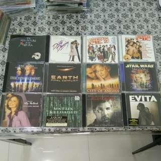 Movie soundtrack cd