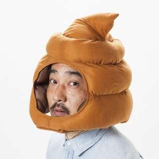 【beibai不錯買】趣味頭套 便便頭套