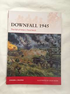 downfall 1945 the fall of hitlers third reich (good conditions)