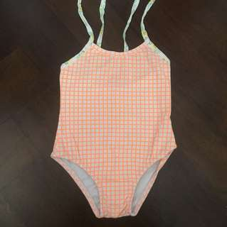 Orange Swimming Suit