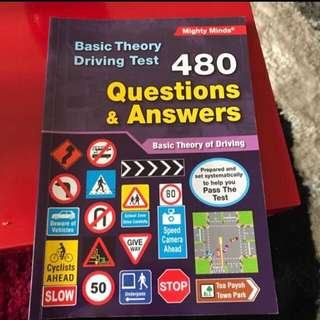 Basic Theory Driving Test - 480 Questions and Answers Book
