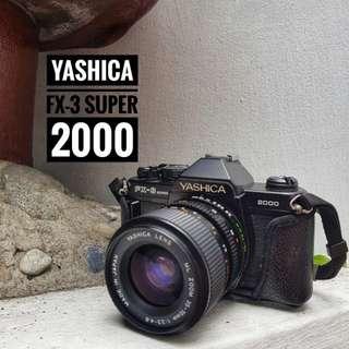 Yashica fx-3 2000 Film Camera