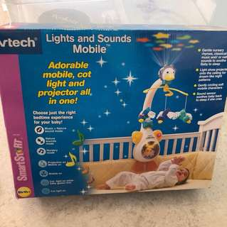 Vtech baby lights and sound mobile