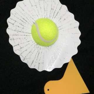 網球玻璃貼