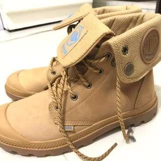 🚚 原價4380 雨鞋 palladium  短筒 短靴 翻下靴 軍靴