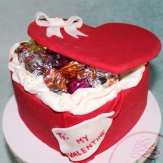 Valentines Cake for you love once