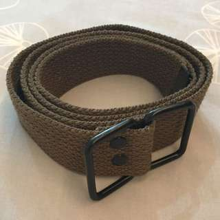 Fabric Belt - Hijau Tua (Seaweed)