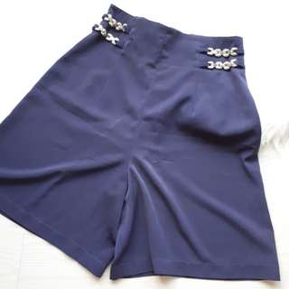 Vintage SUPER HIGHWAIST blue shorts