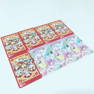 Sanrio hello kitty and friends ezlink card limited edition