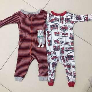 Carter's pajama 12 mths