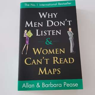 Book: Why men dont listen & women can't read map