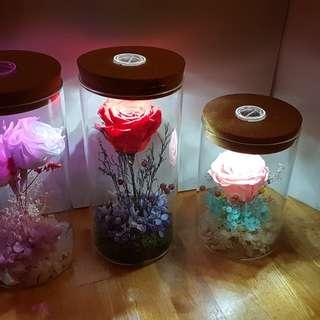 自家制保鮮花