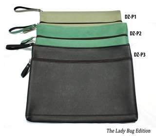 double zip laptop pouch