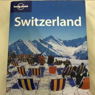 Choose 5 items for $15: Lonely Planet: Switzerland 5th Edition