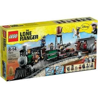 全新Lego 79111 Constitution train chase