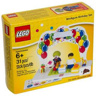 全新Lego 850791 Minifigure birthday set