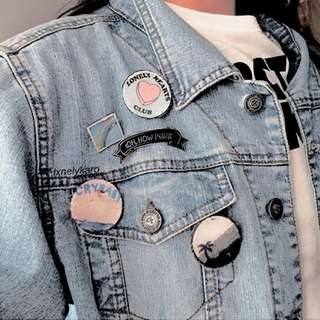 Customize Pin Badge !! *Buy 5 Free 1*