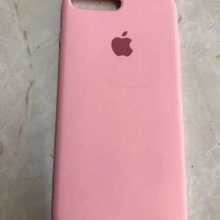 Iphone7plus Case pink 粉紅色 軟膠 apple
