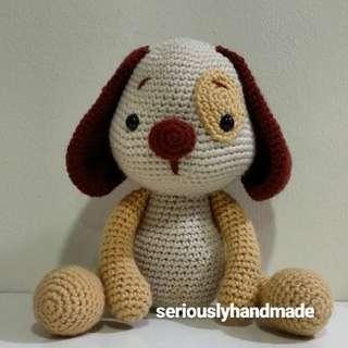 Amigurumi Puppy / Crochet Dog (pls pm for Price)
