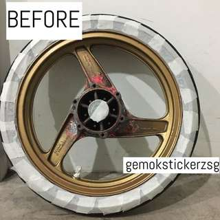 KRR RIM SPRAY IN BLACK