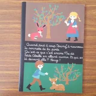 Fairytale Japanese Notebook