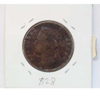 Straits Settlements Queen Victoria 1 Cent Coin (1890s)