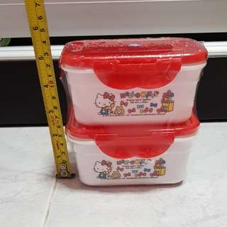 Hello kitty small container