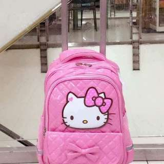 Hello Kitty Trolley Bag/BackPack