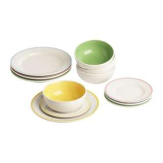 [IKEA] DUKTIG Plate & Bowl Set /12pieces