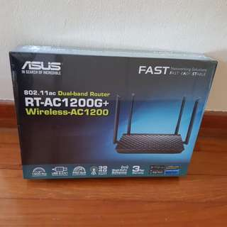 Asus RT-AC 1200G+ Dual Band router