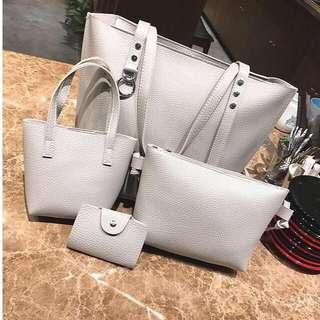 4in1 Korean Bag Set