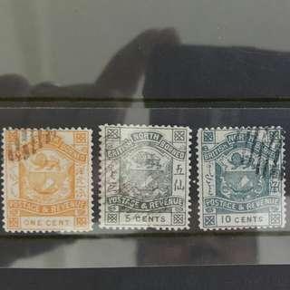 North Borneo Malaysia Vintage 1886