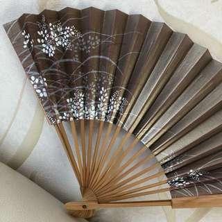Japanese Foldable Pocket Paper Fan