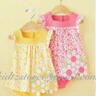 FI Daisy Border Sunsuit (Pink only)