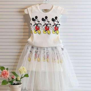 Instock Mickey Mouse 2pc Dress