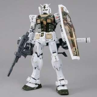 限定 MG 1/100 AAPE RX-78-2 GUNDAM GRN-CAMO