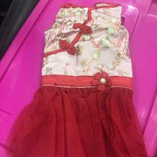 Size XL cny dress