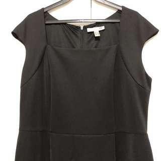 Black maxi dress XXL
