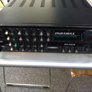 Paramax Digital Stereo Echo Amplifier Price reduced.