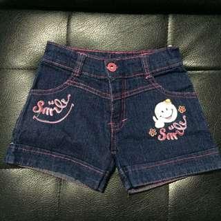 Celana pendek jeans import